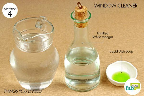 things you need how to use vinegar window cleaner