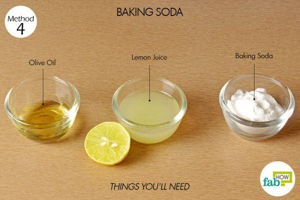 things you'll need to get rid of calluses using baking soda