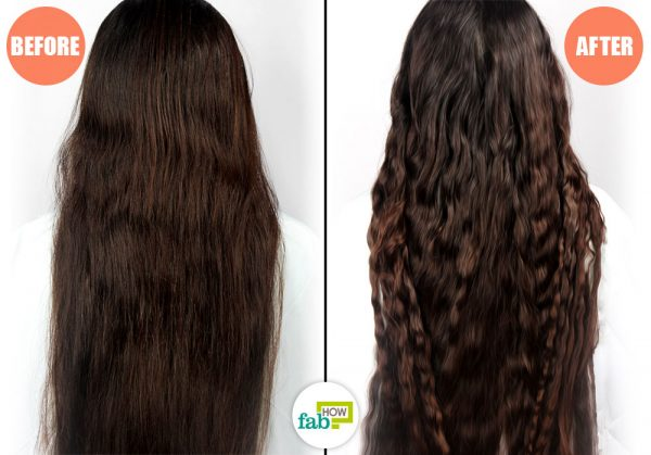 before and after braiding overnight