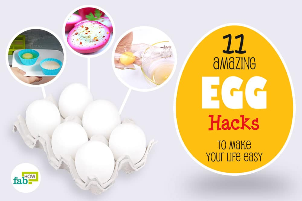 feat amazing egg hacks