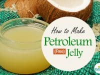 how to make petroleum free jelly