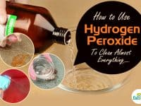 feature hydrogen peroxide for cleaning