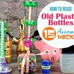 how to reuse old plastic bottles