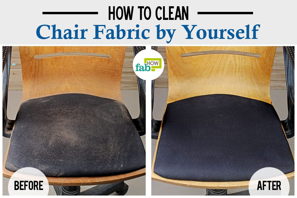 how to clean chair fabric by yourself fab how. Black Bedroom Furniture Sets. Home Design Ideas