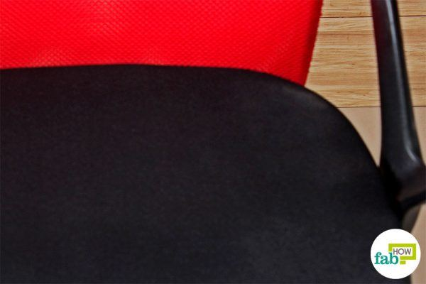 final clean chair fabric with baking soda