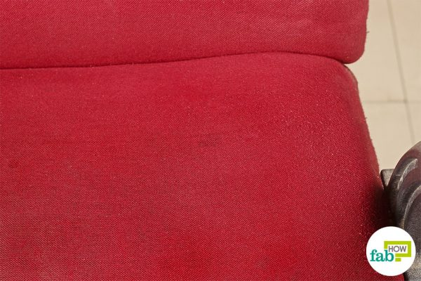 final clean chair stain with hydrogen peroxide