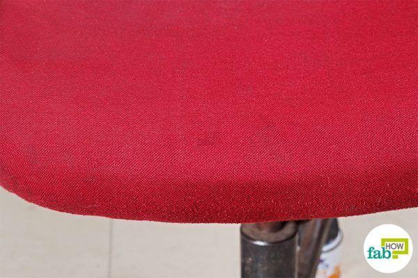 final clean chair fabric with vinegar