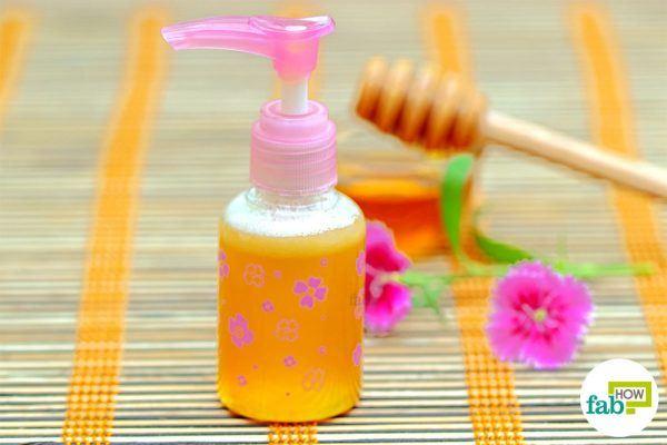 final face wash using honey