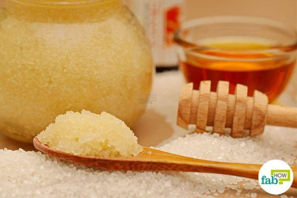 final honey scrub for face and body