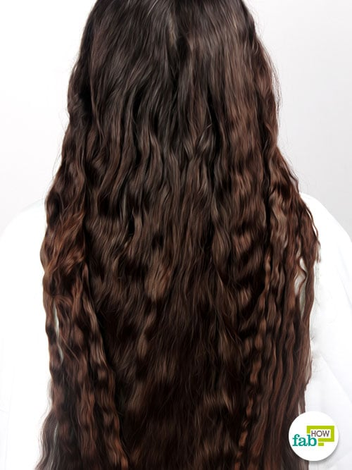 final curl hair with braiding