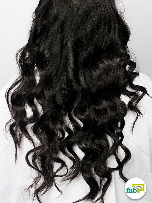 final curl hair with curling iron