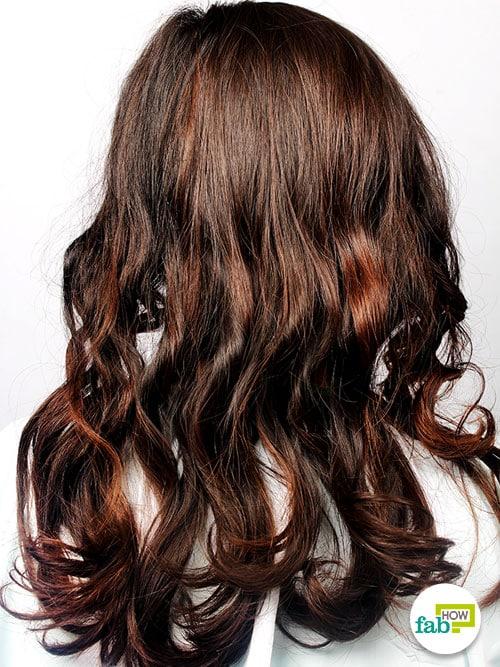 final curl hair with headband