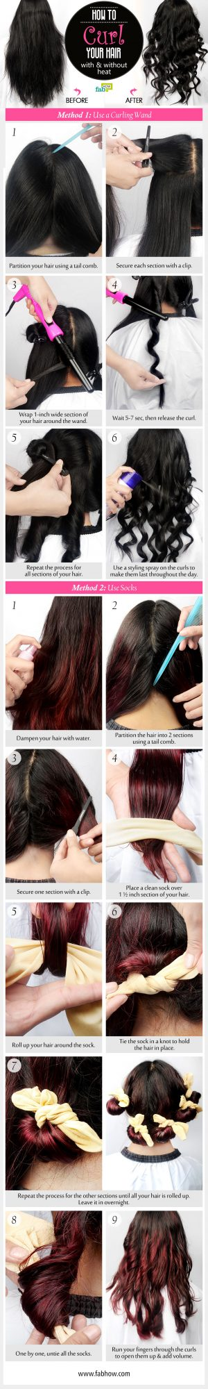 how to curl your hair summary