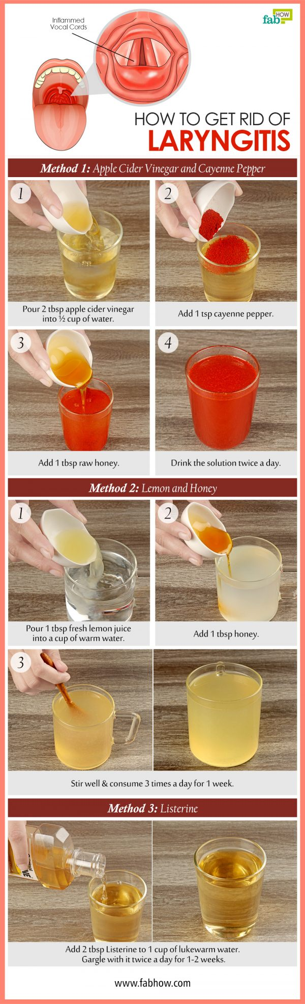 how to get rid of laryngitis