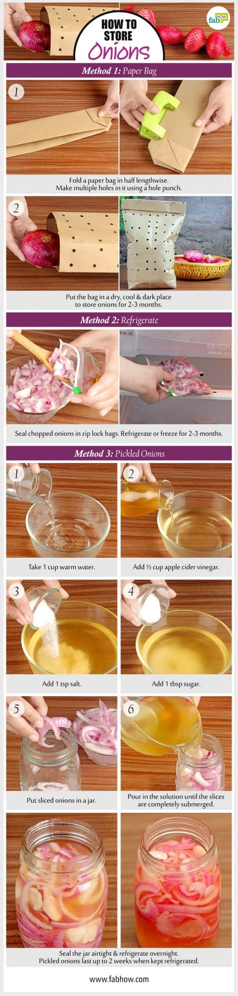 how to store onions summary