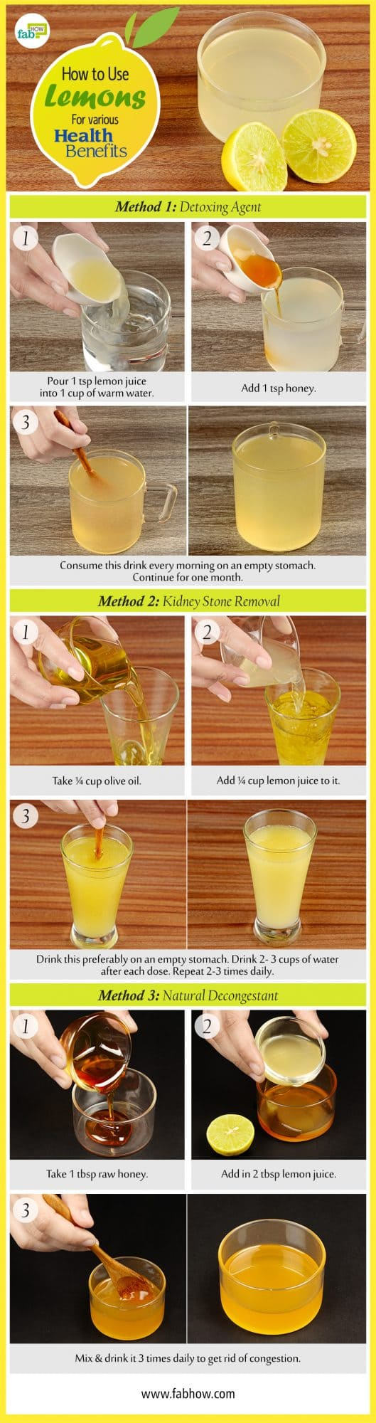 how to use lemon for health benefits summary