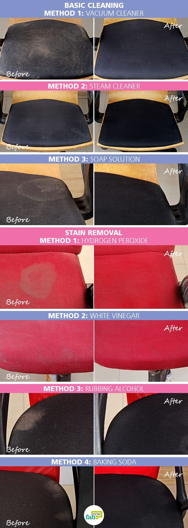 intro clean chair fabric