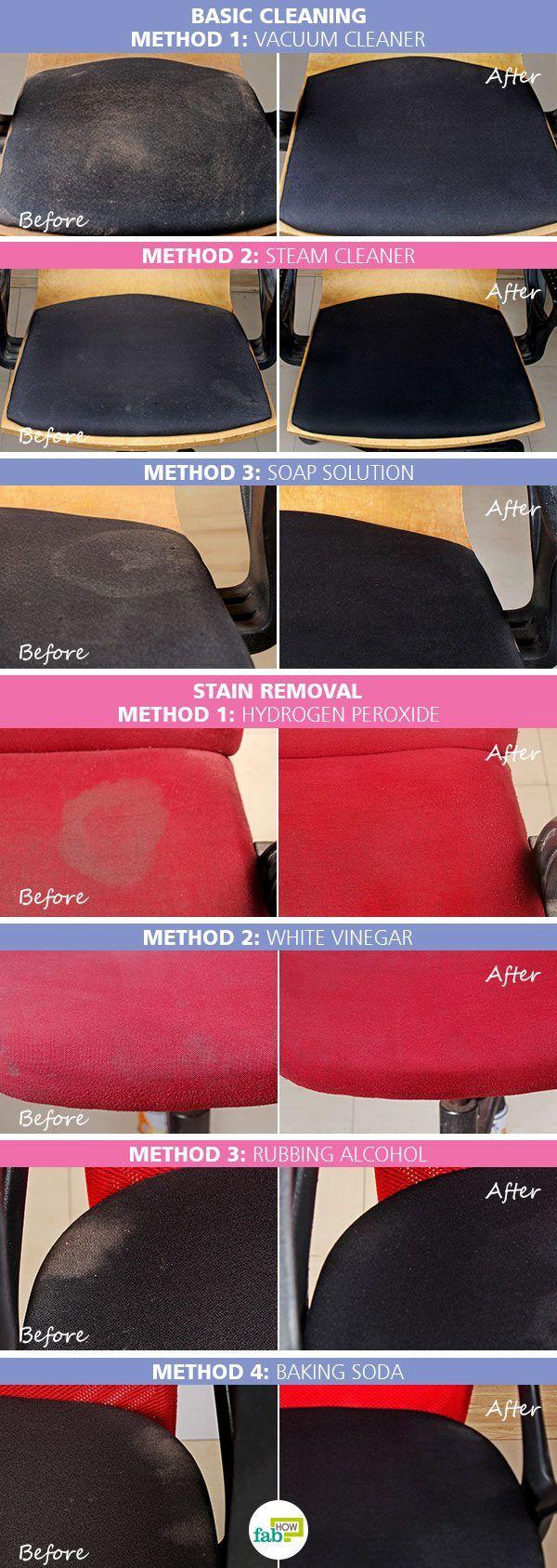 intro clean chair fabric