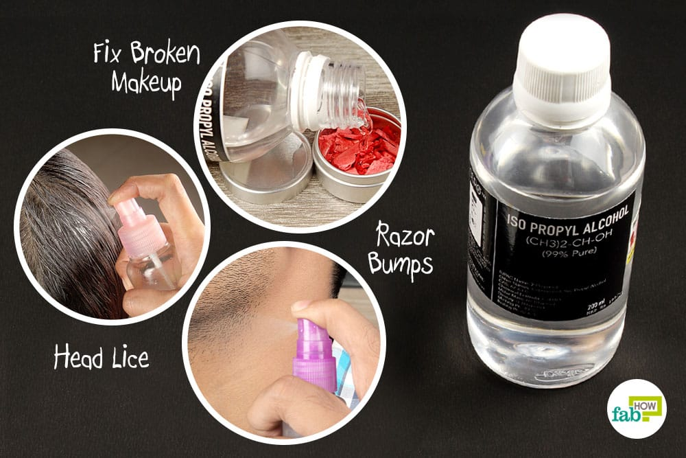 How to Use Rubbing Alcohol for Health and Beauty | Fab How