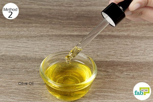 put few drops of warm olive oil in the blocked ear