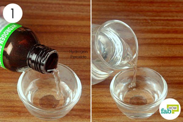 dilte hydrogen peroxide