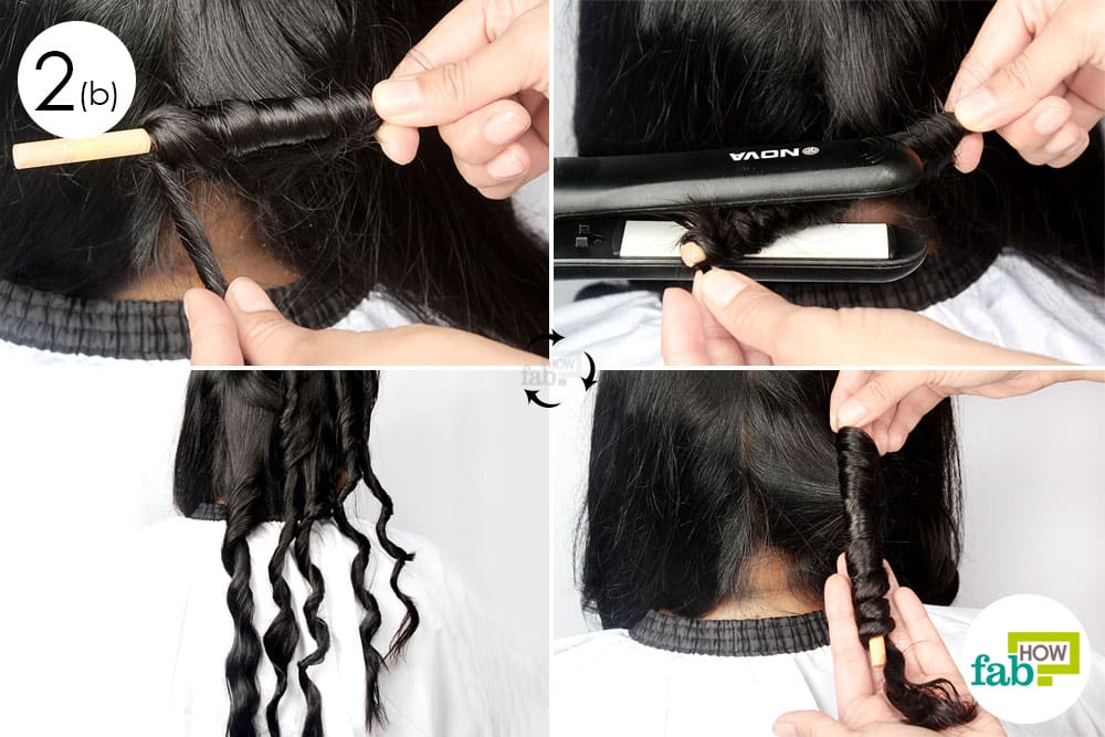 how to curl your hair with and without heat fab how
