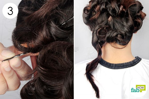 remove the bobby pins