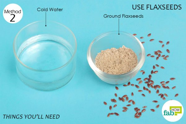 things you'll need to use flaxseeds in place of eggs