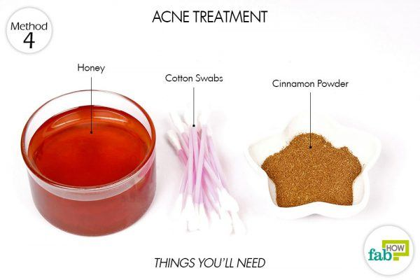things you'll need to for acne treatment using honey