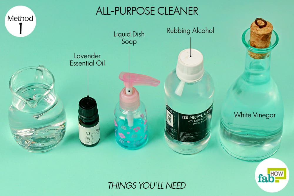 How To Use Rubbing Alcohol For Cleaning And Stain Removal