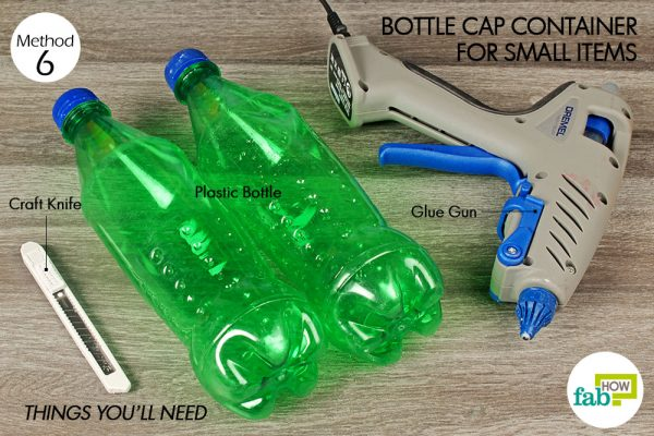things you'll need to make small container made with plastic bottlesmall container made with plastic bottle
