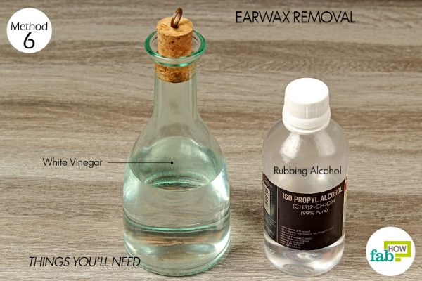 things you'll need for rubbing alcohol health and beauty hacks - earwax removal