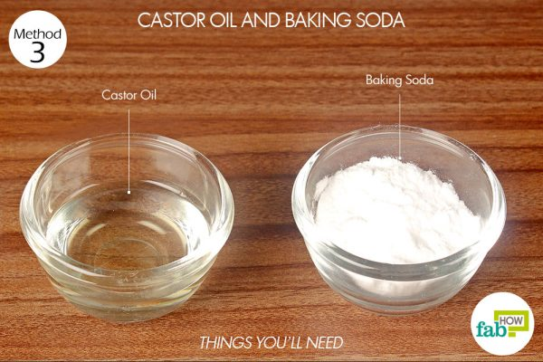 things you'll need to get rid of genital warts using castor oil and baking soda