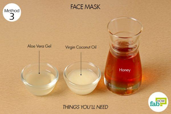 things you'll need to make face mask using honey