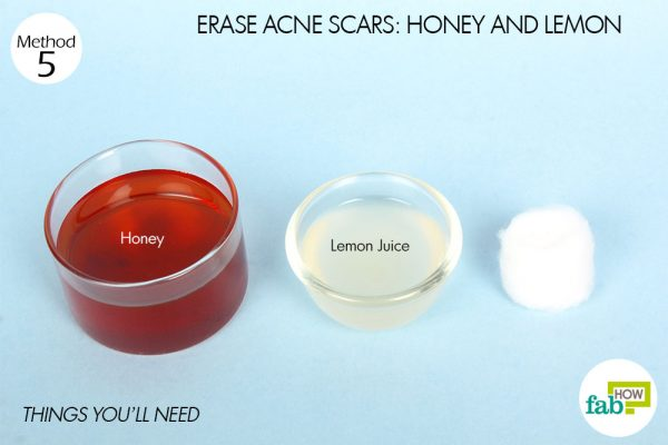 things you'll need to use lemon for acne scars