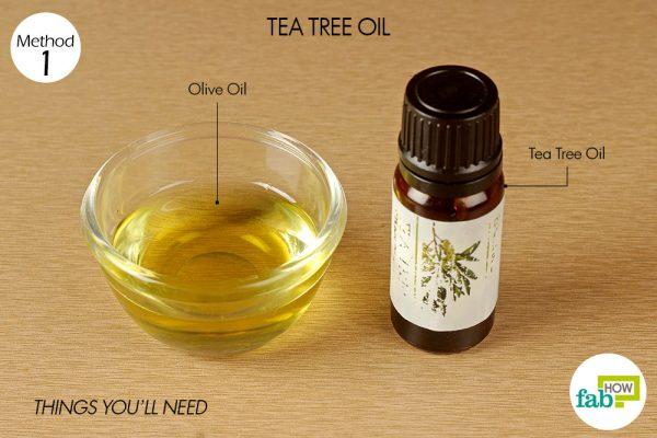 things you'll need to use tea tree oil to treat impetigo