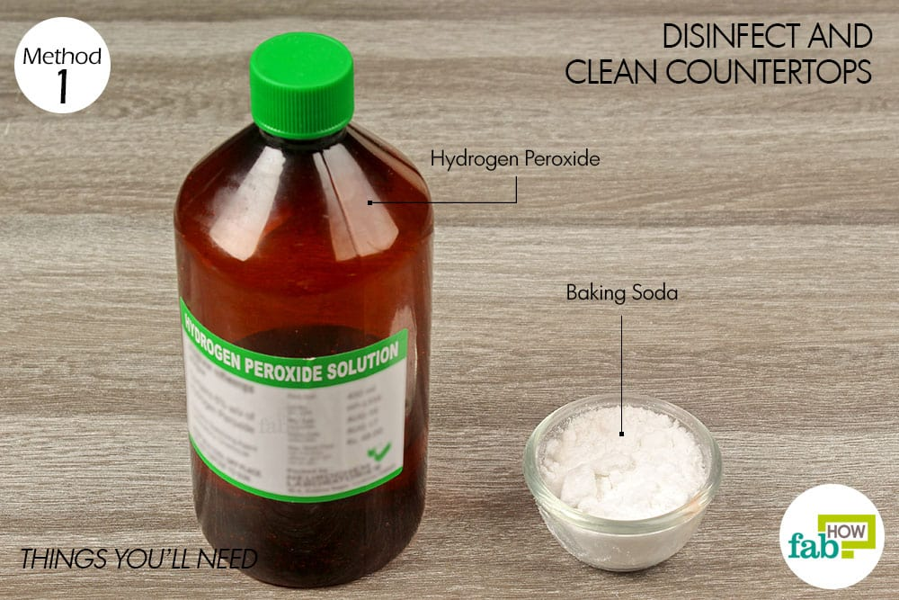 How To Use Hydrogen Peroxide To Clean Almost Everything