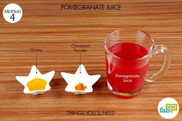 things you'll need for using pomegranate juice to increase your hemoglobin