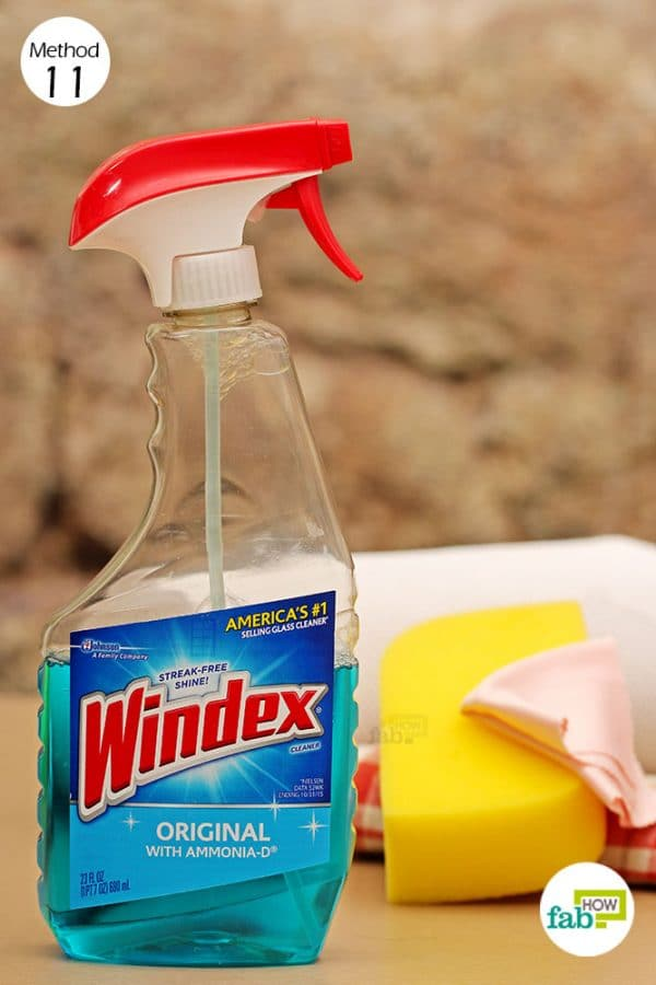 how to use windex for cleaning and other useful hacks fab how. Black Bedroom Furniture Sets. Home Design Ideas