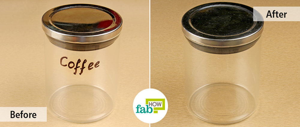 How To Remove Permanent Marker From Glass Fab How
