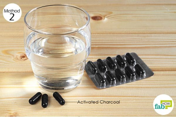 consume activated charcoal