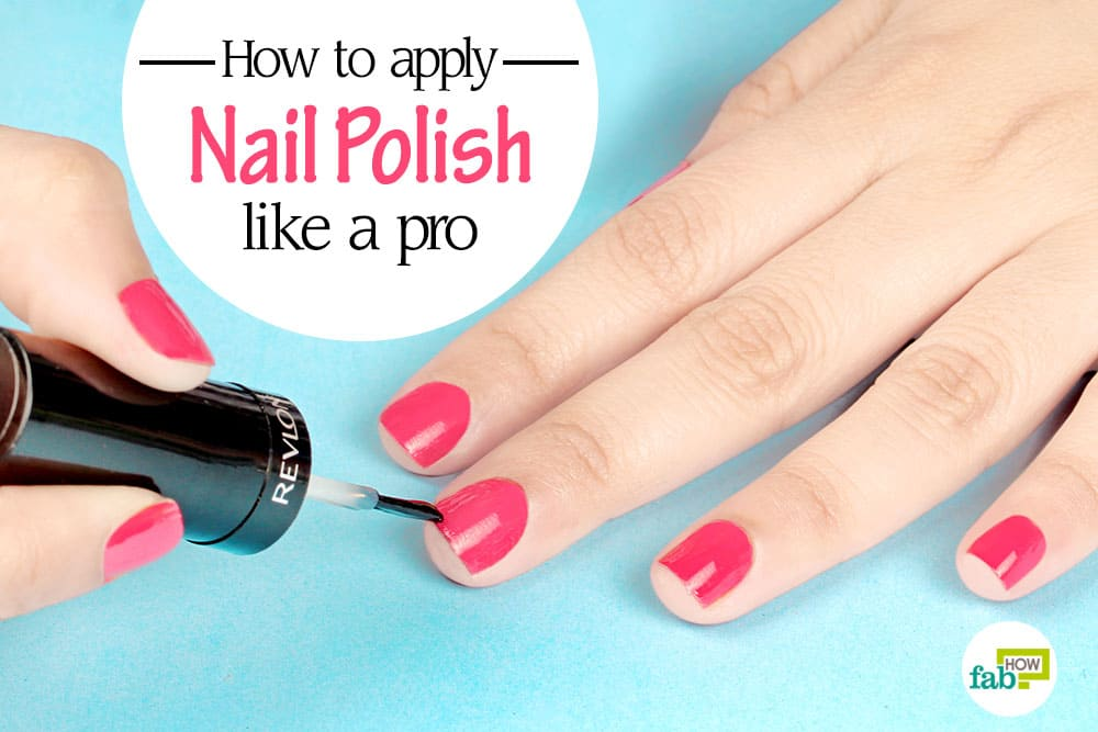 How To Draw A Hand With Nail Polish