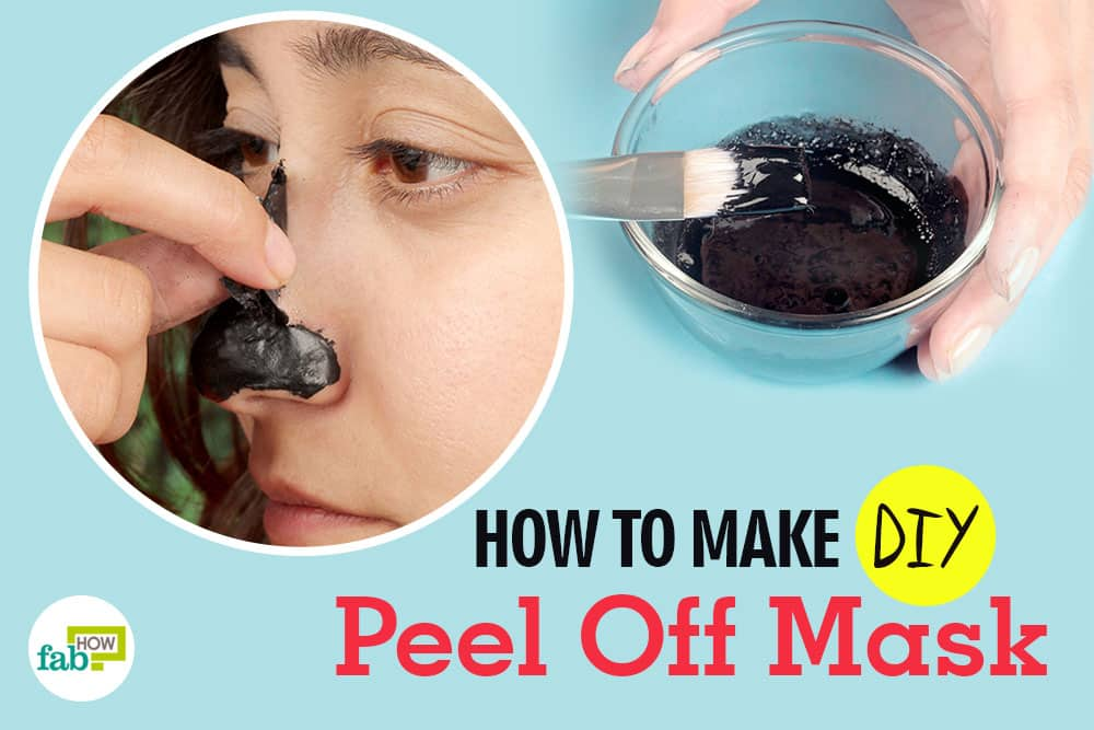 feat how to make DIY peel-off facial mask