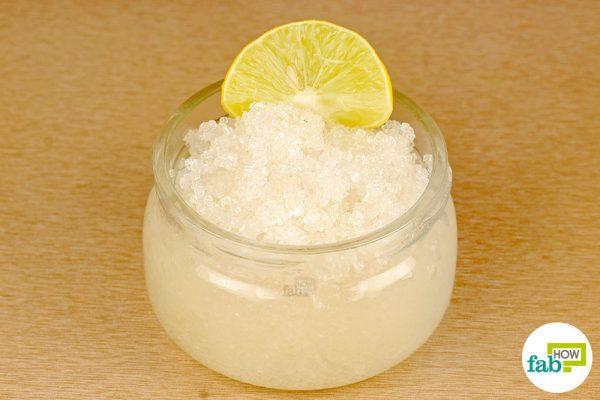 final lemon sugar scrub