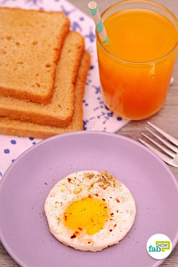 final sunny side up egg with egg ring or mason jar ring