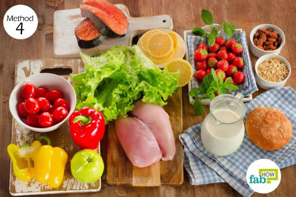 Use diet to get rid of premature graying