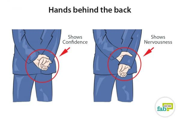 hands behind the back