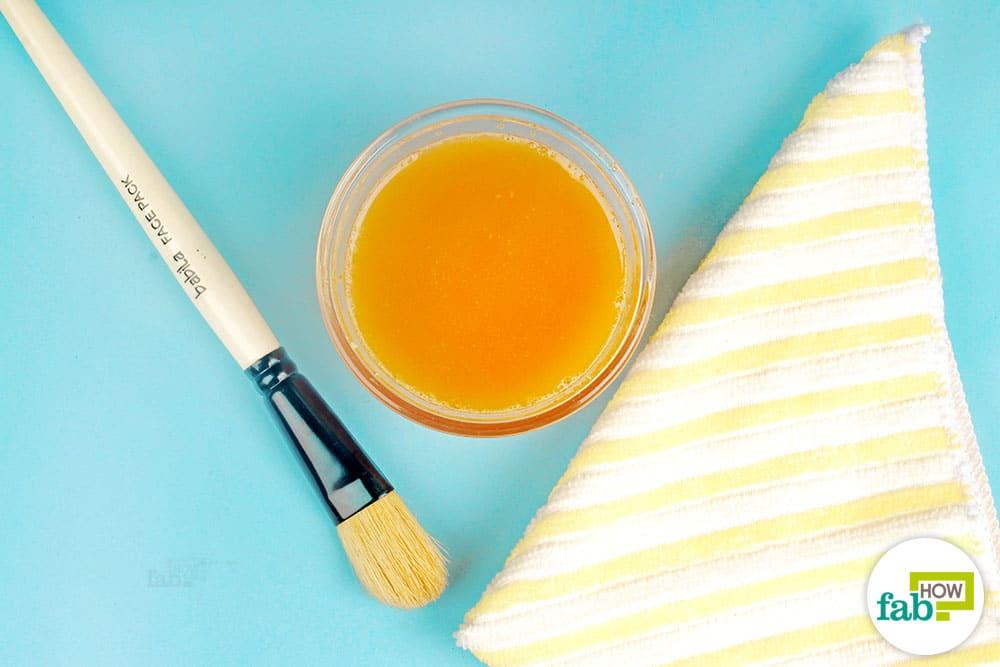 DIY Peel-Off Facial Mask to Deep Clean Pores