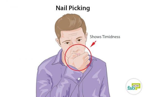 nail picking
