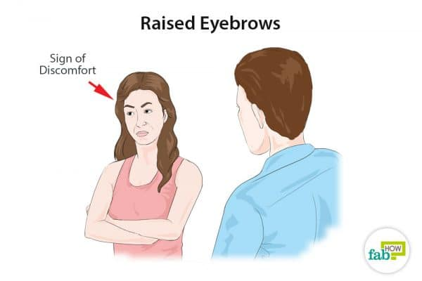 raised eyebrows